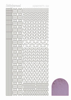 Stickervel Hobbydots Mirror STDM123 candy/roze