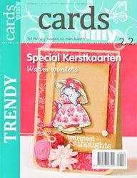 Scrap tijdschrift Cards only nr 22 speciaal kerstkaarten