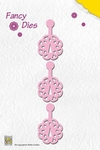 Nellies Fancy dies FD009 Click Flower