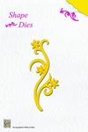 Nellie's Shape Die SD002 Flower swirl