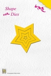 Nellie's Shape Die SD003 5-punt Star