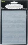 Darice Embossing folder 1216-68 Sheet music/partituur