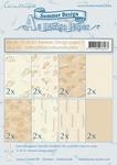 LeCreaDesign papier 518183 assorti Summer 2 bruintint