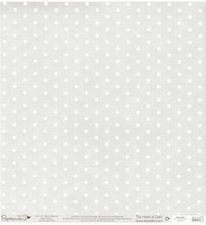 12x12 Glitter Vellum 163203 Polka Dot