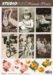 A4 Knipvel Studio light  RPSL14 Romantic Pictures kinderen