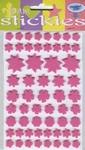 JeJe 3D foam stickies 33551 bloemen roze