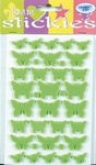 JeJe 3D foam stickies 33570 vlinders groen