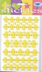 JeJe 3D foam stickies 33602 franse lelie geel