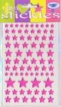 JeJe 3D foam stickies 33581 sterren roze
