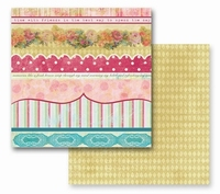 Dec. papier Prima 2-sided Annalee parlor