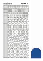 Stickervel Hobbydots Mirror STDM13A blauw