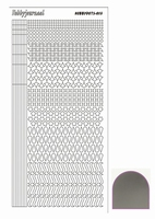 Stickervel Hobbydots Mirror STDM138 zilver