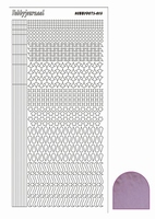 Stickervel Hobbydots Mirror STDM133 candy/roze