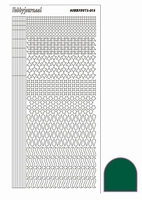 Stickervel Hobbydots Adhesive STDA132 groen