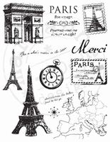 MD Clear stamps CS0859 Paris