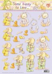 A4 Knipvel Studio Light Some bunny to love STAPSB10