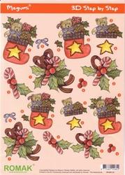 Kerststansvel Megumi P0-001-21 laars