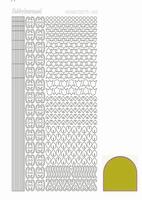 Stickervel Hobbydots Mirror STDM12E Yellow
