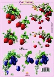 Art Coupure 3D stappenvel 01 zacht fruit bloesem