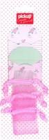 Mix and Match 2 enveloppen en 3 mini bags 200042 roze