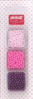 Mix and Match kralen rond 200132 roze