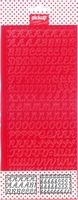 Mix and Match 1 sticker alfabet 200141 rood