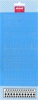 Mix and Match 1 sticker ornament 200160 blauw