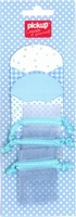 Mix and Match 2 enveloppen en 3 mini bags 200040 blauw