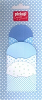 Mix and Match 3 enveloppen 200060 blauw