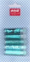 Mix and Match 5 buisjes glitter 200090 blauw