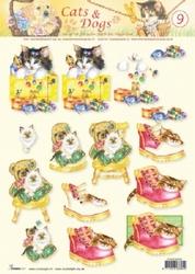 A4 Knipvel Studio Light Cats & dogs 09