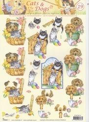 A4 Knipvel Studio Light Cats & dogs 19