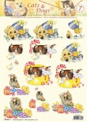 A4 Knipvel Studio Light Cats & dogs 07