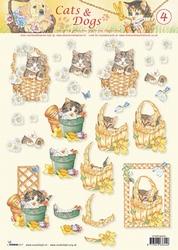 A4 Knipvel Studio Light Cats & dogs 04