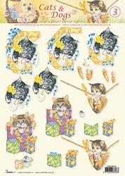 A4 Knipvel Studio Light Cats & dogs 03