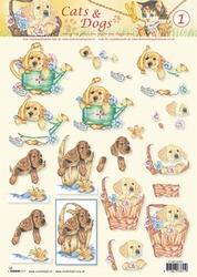 A4 Knipvel Studio Light Cats & dogs 01