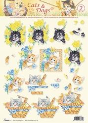 A4 Knipvel Studio Light Cats & dogs 02