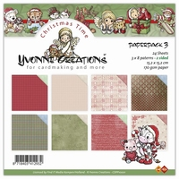 Paperpack Yvonne Creations CDPP10001 Christmas time 3