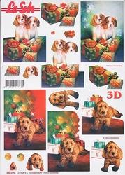 Le Suh 3D Stansvel 680026 Honden