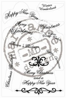 MD Clear stamps CS0862 Christmas wishes