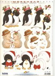 Morehead A4 Stansvel 356 Pinguins/egeltjes