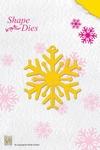 Nellie's Shape Die SD006 Snowflake/sneeuwvlok