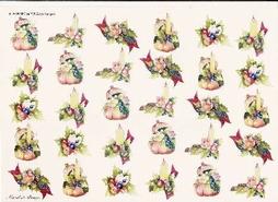 A4 Kerstknipvel Wekabo 708 Kleine kerststukjes Pompoen