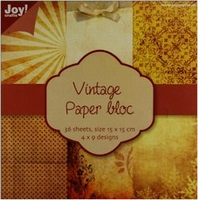 Joy! Papierblok 6011-0101 Vintage 1