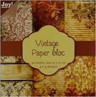 Joy! Papierblok 6011-0102 Vintage 2