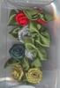MD CP8933 Ribbon Roses Christmas