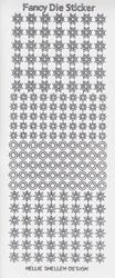 Sticker vel Fancy Dies Transparant Glitter FDS004