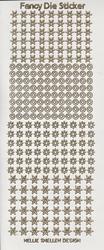 Sticker vel Fancy Dies Transparant Glitter FDS001