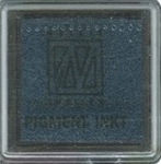 NS Mini stempelkussen Colorart MIST19 marineblauw