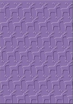 cArt-Us Embossing folder 8003 rendier